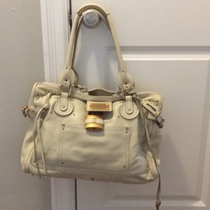 Chloe Paddington Leather Satchel